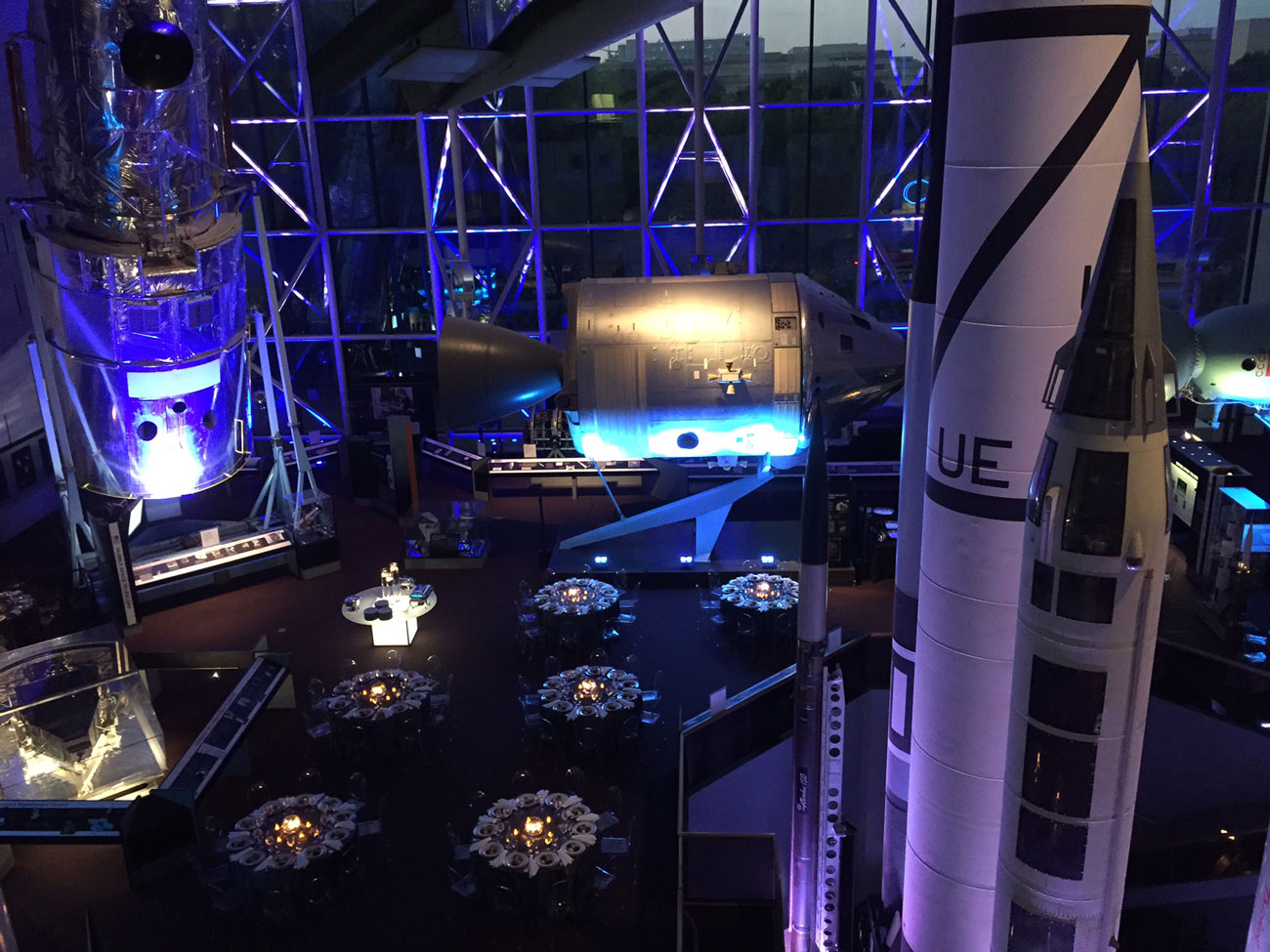 Attendees at TraceLink's NEXUS '15 enjoyed a night of food and dancing at The Smithsonian National Air and Space Museum in Washington D.C.