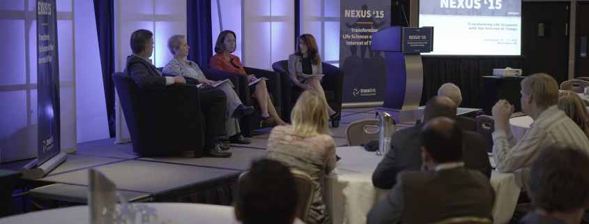 Experts in the Life Sciences industry participate in one of many panels at NEXUS '15.