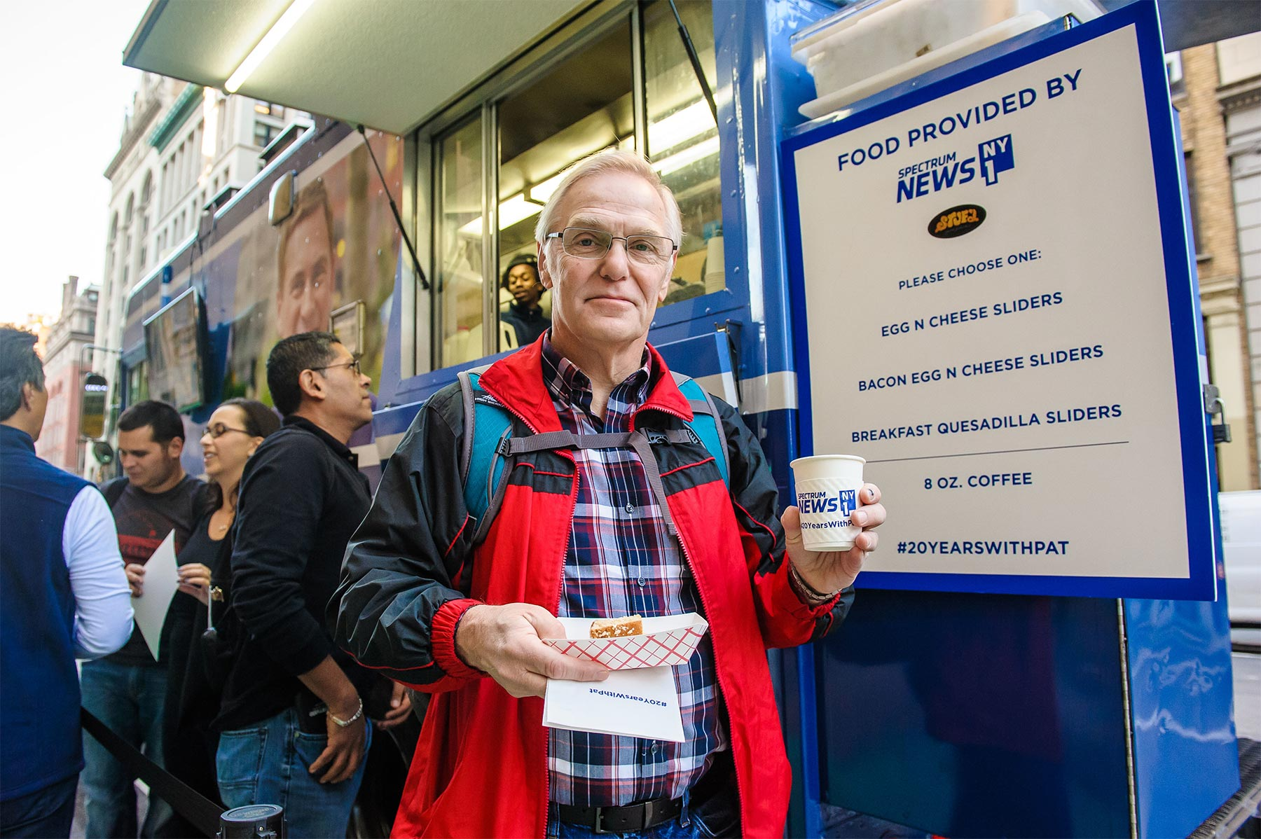 Ny anniversary food truck u the michael alan group